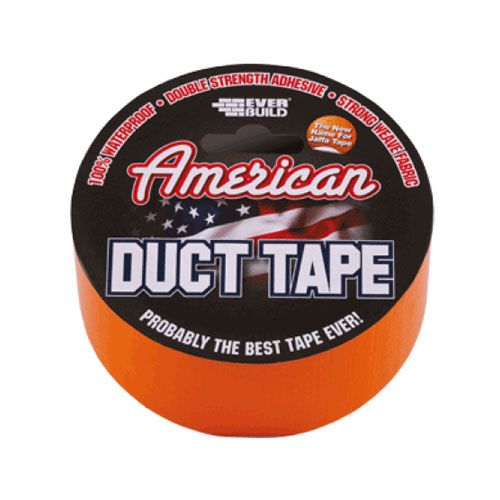 American Duct Tape Orange - 50mm x 5m