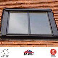 velux ggl uk04 integra conservation window for 15mm tiles 134 x 98cm roofing superstore. Black Bedroom Furniture Sets. Home Design Ideas