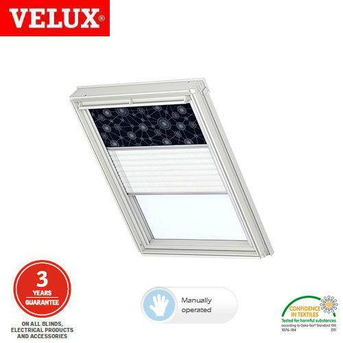 Velux manual duo blackout blind dfd mk06 0101 dark blue Velux sun tunnel installation instructions