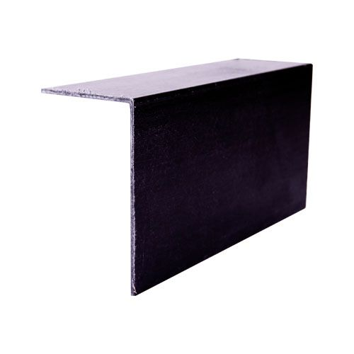 Grp 90 Degree Angle Roof Edge Trim 100mm X 60mm Black