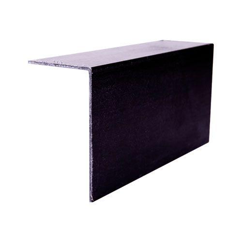 Grp 90 Degree Angle Roof Edge Trim 100mm X 60mm Black