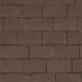 Redland Concrete Plain Roof Tile Brown 02 Roofing