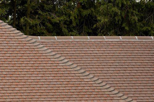 Redland Concrete Plain Universal Roof Valley Tile Brown