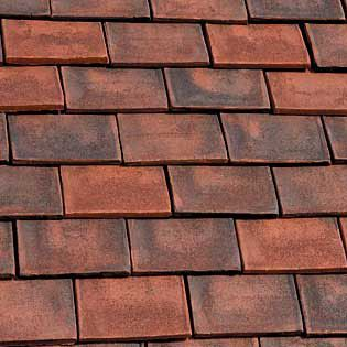 Marley clay plain ashdowne eaves tile old variation for Buy clay roof tiles online
