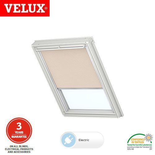 Velux Electric Roller Blind Rml Mk04 4080 Sand Roofing