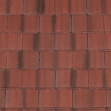 Redland Concrete Plain Roof Tile Rustic Red From Roofing