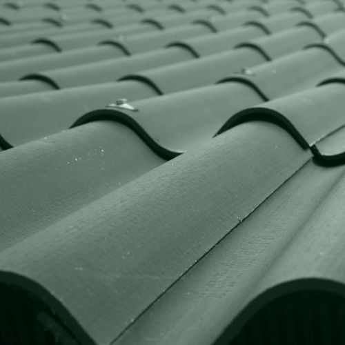 Fibre Cement Profile Roof Sheet Green 1525mm 5ft