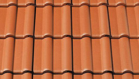Marley Maxima Double Roman Clay Tile Natural Red Pallet