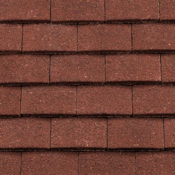 Redland Concrete Plain Roof Eaves Tile Antique Red
