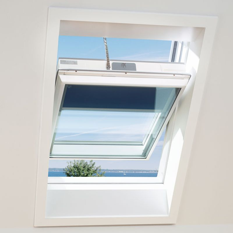 velux ggu mk08 008230 white solar passive house window. Black Bedroom Furniture Sets. Home Design Ideas