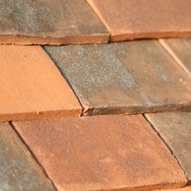 Marley canterbury handmade clay plain roof tile for Buy clay roof tiles online