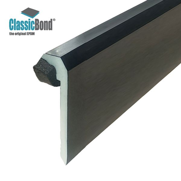 Elegant Sure Edge UPVC Raised Edge Trim For EPDM Roof Systems   2.5m Length Sc 1 St  Roofing Superstore