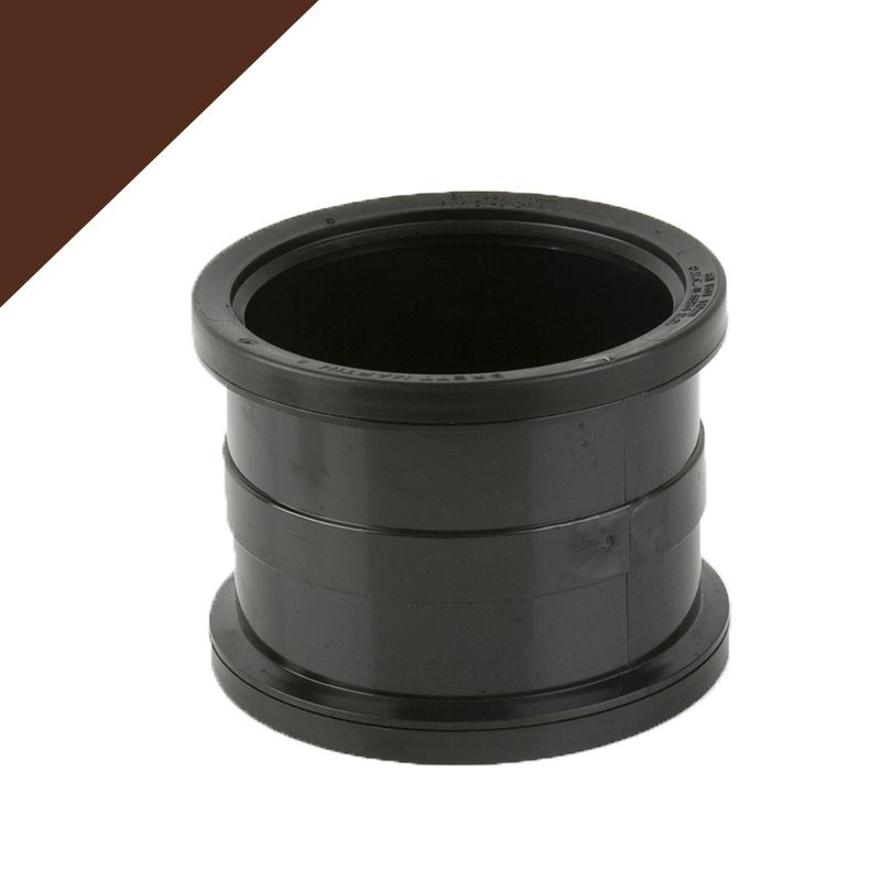Plastic Guttering Industrial Downpipe Socketed Connector