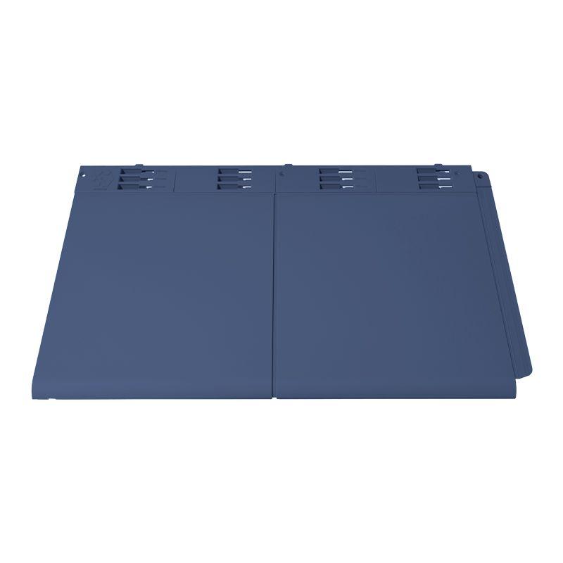 Envirotile Plastic Lightweight Double Tile In Slate Grey