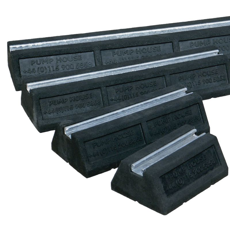 Home flat roofing roof risers cable tray and pipework support foot