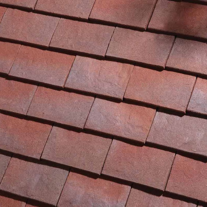 Dreadnought Classic Clay Roofing Tile Half Purple