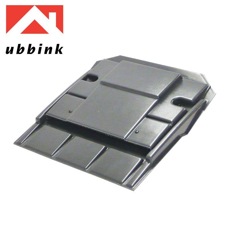 Ubbink Ub8 In Line Clay Slip Plain Tile Vent Anthracite