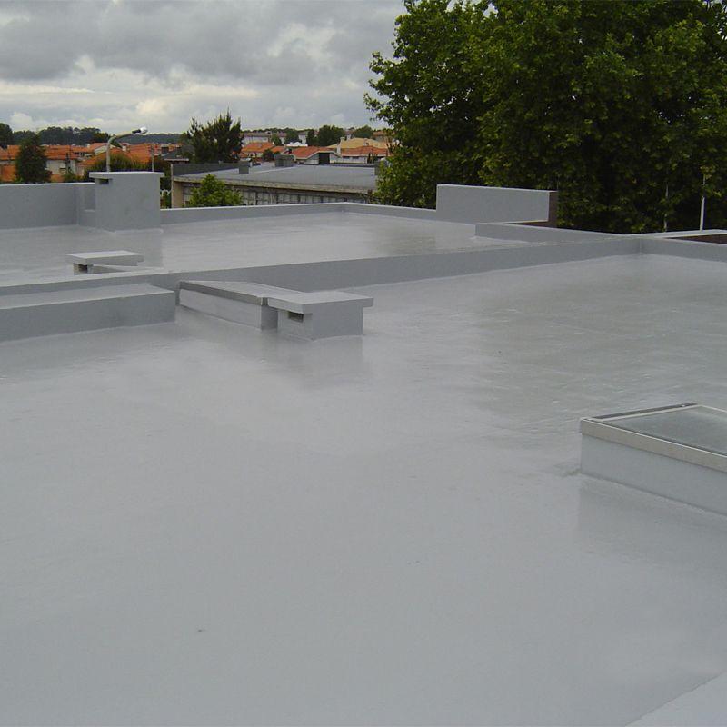 Cromar elasta thane 25 liquid rubber membrane roof kit for Kit piscine 10m2