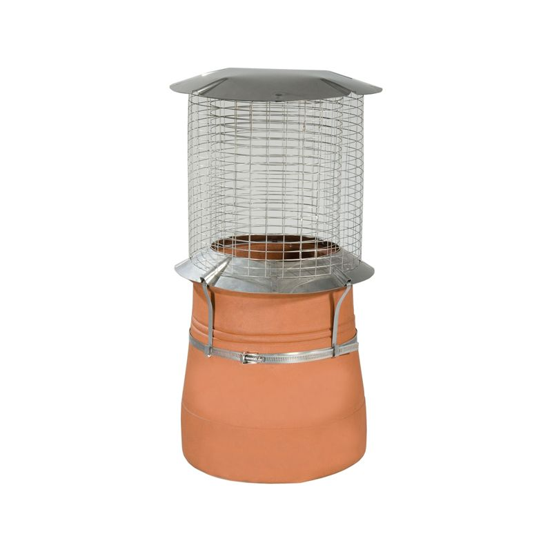 Spark Arrestor Chimney Cowl Stainless Steel 150mm To 250mm