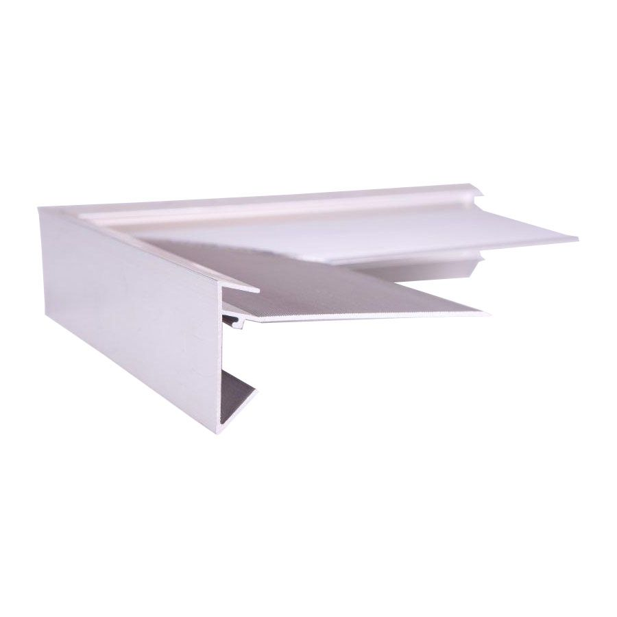 Aluminium Felt Roof Trim AF1/L External Angles 200mm x 200mm, 45mm Face, 89mm Leg.