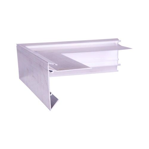 Aluminium Felt Roof Trim AF2 External Angles 200mm x 200mm, 64mm Face, 60mm Leg.