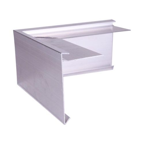 Aluminium Felt Roof Trim AF10 External Angles 200mm x 200mm, 100mm Face, 62mm Leg.