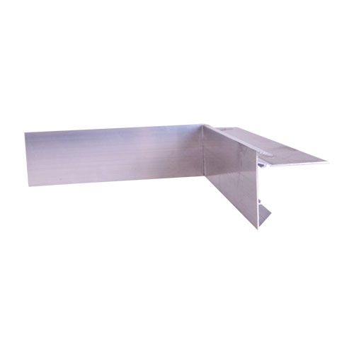 Aluminium Felt Roof Trim AF2 Internal Angles 200mm x 200mm, 64mm Face, 60mm Leg.