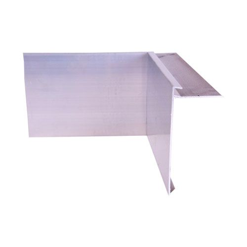 Aluminium Felt Roof Trim AF15 Internal Angles 200mm x 200mm, 150mm Face, 63mm Leg.