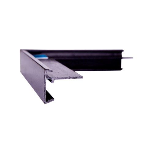 GRP Felt Trim External Angle ~ Type 1  (Black)