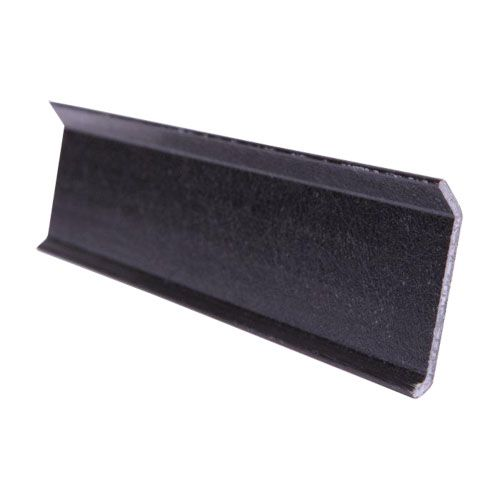 Grp Felt Roof Termination Bar 2 5m Black Roofing