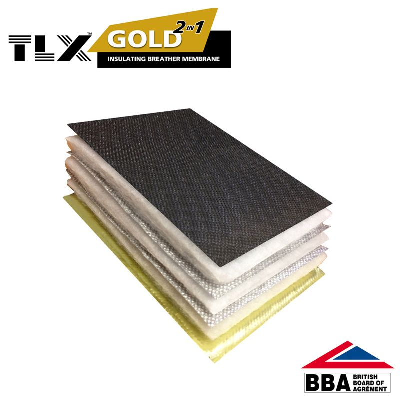 TLX Gold Multifoil Roofing Insulation -...
