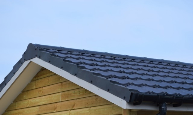 Lightweight Roof Budget Tile Ridge End Cap Ungranulated