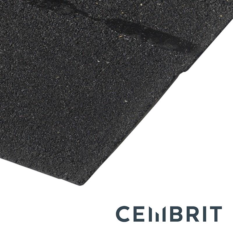 Cembrit Square Butt Bitumen Roofing Shingles Black 3m2