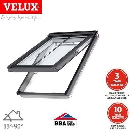 velux gpu mk08 0866 top hung triple glaze window 78cm x 140cm roofing superstore. Black Bedroom Furniture Sets. Home Design Ideas