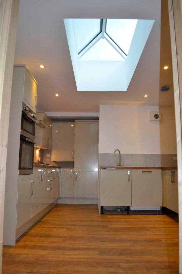 Atlas Active Neutral Double Glazed Contemporary Roof