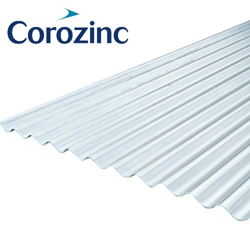 Corrugated Roofing Accessories : Corozinc corrugated metal roof sheet mm