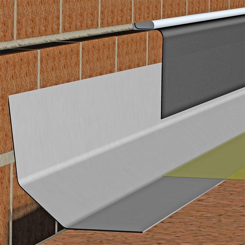 Fibreglass Simulated Lead Flashing C100 3m Length