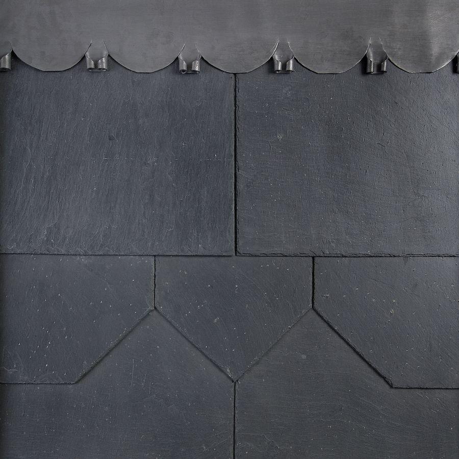 400mm X 250mm Contessa Q9 1st Spanish Natural Slate Grey