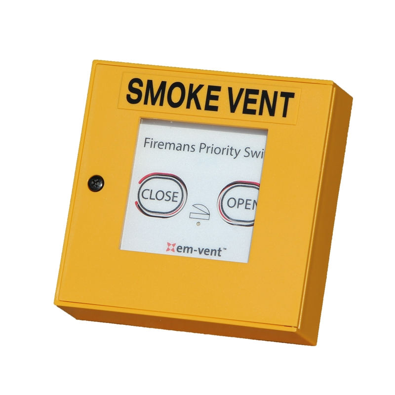 Firemans Priority Switch For Em Vent Smoke Vent Systems
