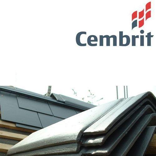 Cembrit Fibre Cement 120 Degree Ridge Tile - Graphite ...