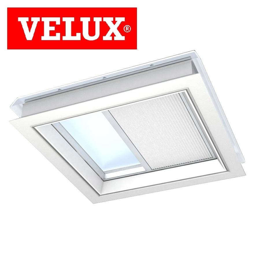 Velux fsk 060090 1045 solar light dimming energy blind for Velux solar blinds installation instructions