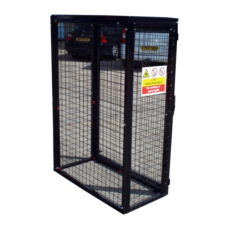 Gas Bottle Cylinder Storage Cage H1400mm X W1000mm X