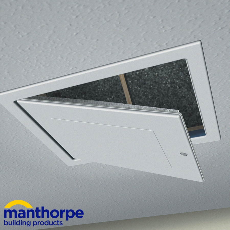 Manthorpe Gl250 03 Drop Down Loft Access Door Old