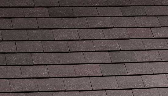 Marley Clay Plain Acme Single Camber Roof Tile Grey