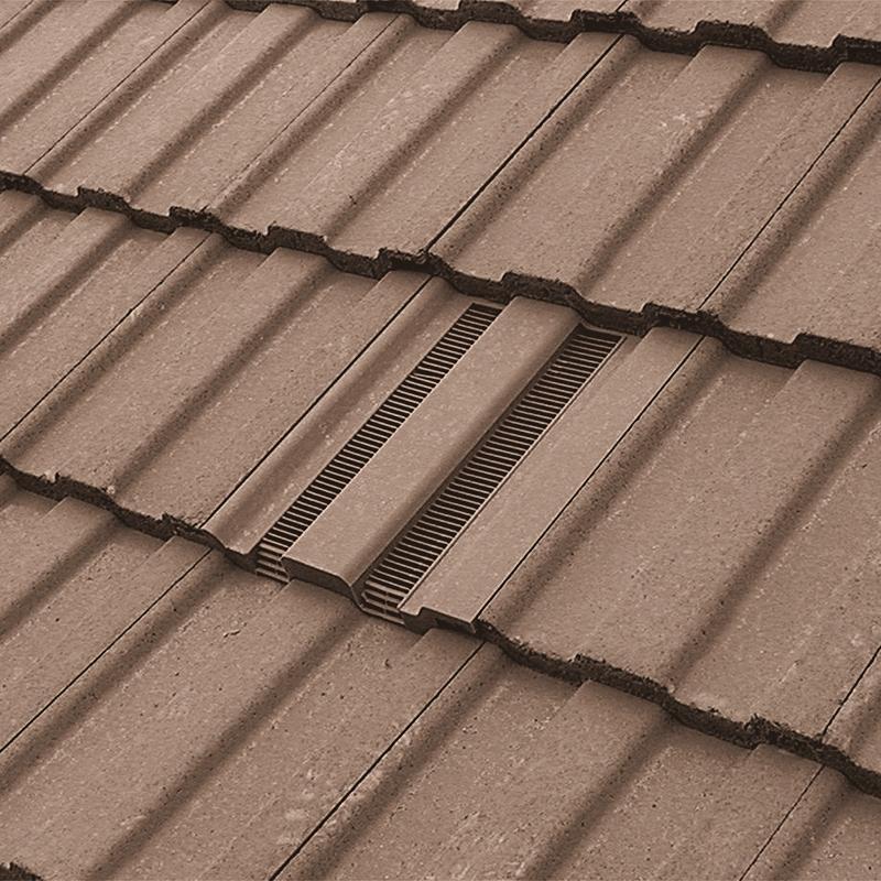 Hambleside Danelaw Castellated Flush Fit Roof Tile Vent