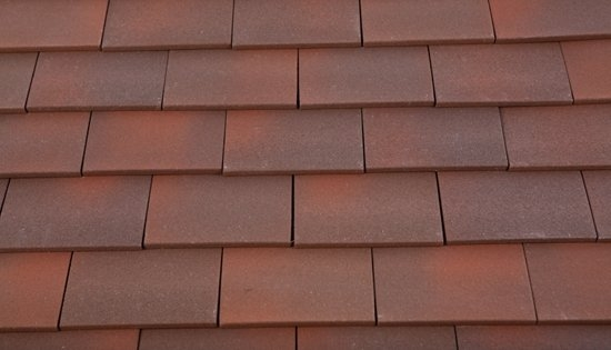 Marley Clay Plain Acme Single Camber Roof Tile Heather