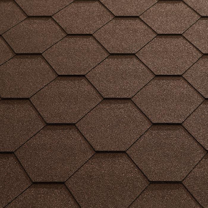 Katepal Super Kl Hexagonal Bitumen Roofing Shingles 3m2