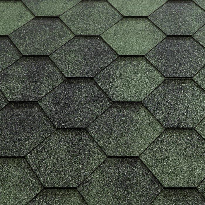 Katepal Super Jazzy Hexagonal Felt Roofing Shingles 3m2