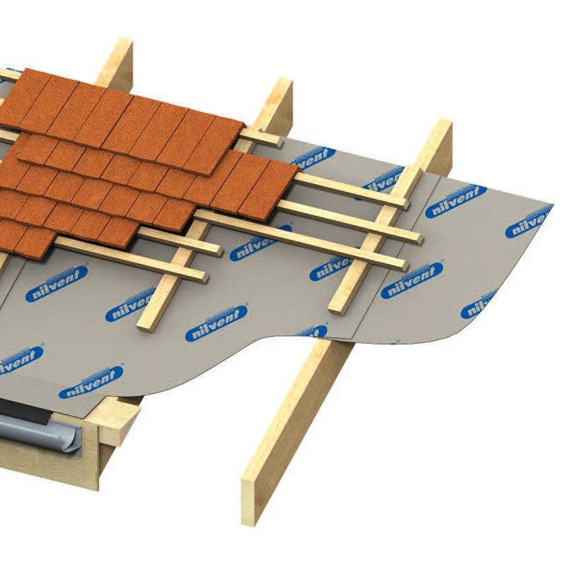 Kingspan Nilvent Breathable Membrane 50m X 1 5m Roll 75m2