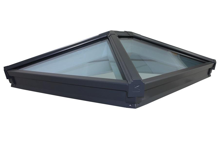 Korniche Grey Aluminium Roof Lantern 2000mm x 1000mm ...